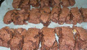 mimine cuisine - croquant amandes chocolat