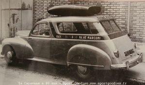 Peugeot 203 Pathé Marconi Transpub Antem