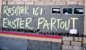 resister ici exister partout