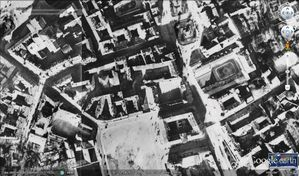 Varsovie - Google Earth - 12-1935 - Centre - Détail