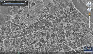 Varsovie - Google Earth - 12-1945 - Centre