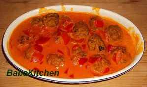 boulettes curry coco