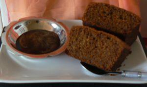 Cake au café et sa sauce café de Patrick