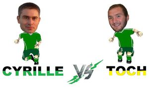 CYRILLE vs. TOCH
