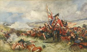 The 42nd Highlanders at Fontenoy