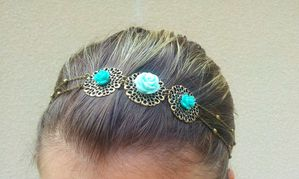 rosaces turquoise