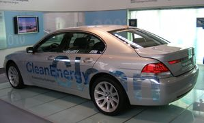 BMW CleanEnergy car - Verkehrszentrum