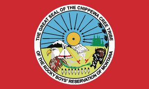 Chippewa-Cree Indians of the Rocky Boy's Reservation (Monta