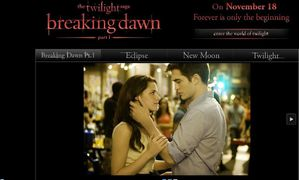 Breaking Dawn - Launching of the official website