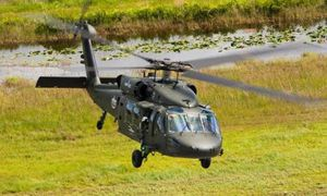 Sikorsky S-70i BLACK HAWK helicopter. Photo Sikorsky