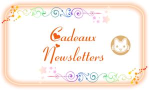 cadeaux newsletters