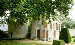 château de villeprévost Tillay le peneux la chapelle et