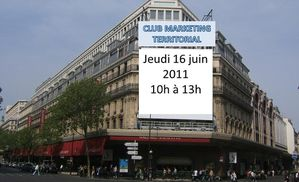 club marketing territorial 16 juin 2011