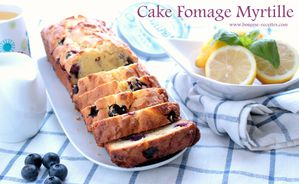 cake fromage myrtille
