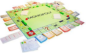 280px-German Monopoly board in the middle of a game