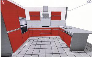 Idee cuisine 2 le blog de maison pierre meaux for Cuisine en u avec fenetre et bar