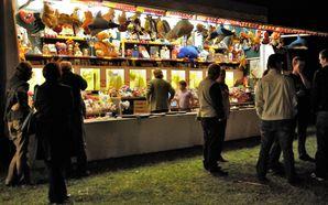 Yville fête médiévale 2010 stand de tir