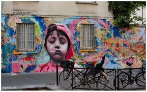 Street Art ARERAM Paris 10 Rue Jacques Louvel-Tessier 2