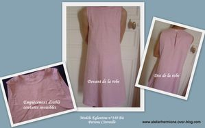 Concours Robe Ete Vichy Rose