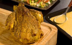 poulet en croute de moutarde et herbes de provence