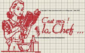 Grille point de croix gratuit imprimer - Point de croix grilles gratuites a imprimer ...
