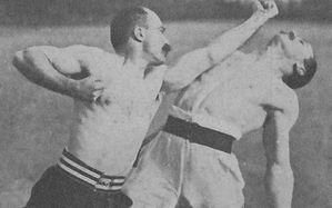 Assaut de boxe française, canne de combat - Joinville