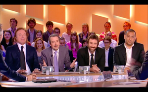grand journal canal+ denisot débat hollande sarkozy