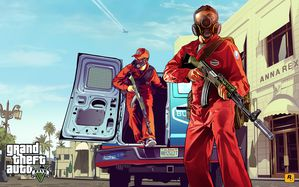 GTA V Heist artwork