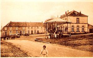 Ecole Hobscheid vers 1930