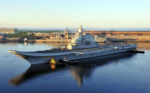 INS Vikramaditya sea trials source Livefist