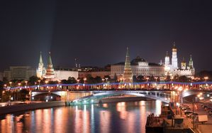Cities Night Moscow 024587