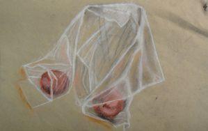 Drapé -Dessin - Peinture - Atelier de Flo 08 - 15