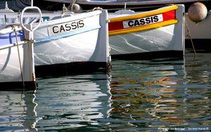 Cassis, bâteaux de pêche