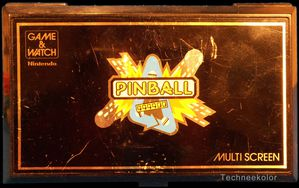 Game & Watch Pinball, sorti le 02/12/1983