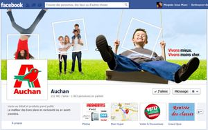 Auchan Face Book Sept.