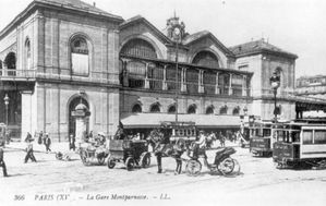 Gare Montparnasse 1900