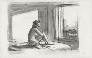 hopper study for morning sun