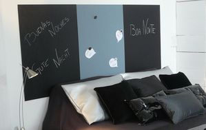 Very good idea les t tes de lit very d co le blog very tendance - Peinture ardoise aimantee ...