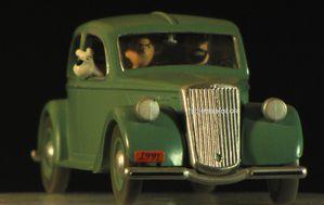 tintin voitures Atlas miniatures
