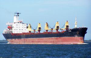 Le MV Frigia libéré par les pirates somaliens