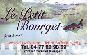 Carte-Le Petit Bourget