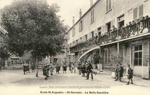 Collège Saint Augustin 39, rue de la Grande Fontaine 78100 Saint-Germain en Laye