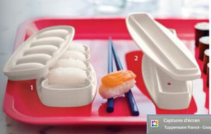 Sushi Party Tupperware