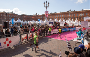 Marathon ToulouseArrivee