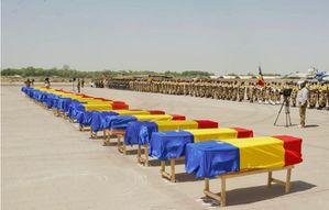Funéraille-nationale pour des soldats tchadiens morts au N