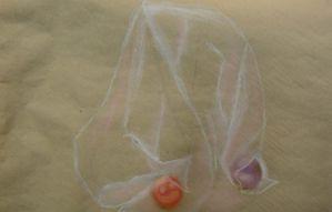 Drapé -Dessin - Peinture - Atelier de Flo 08 - 19