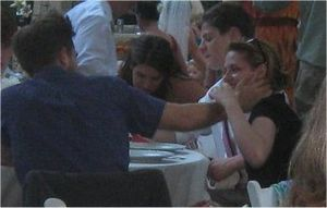 Robsten @ Rob's friend wedding