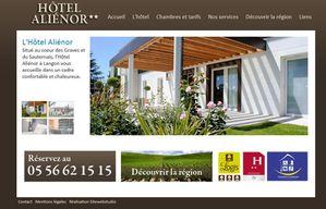 Refonte site hotel