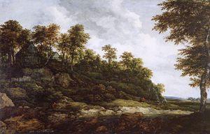 Ruisdael paysage 3