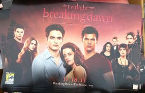Breaking Dawn - Cullens + Jacob Poster
